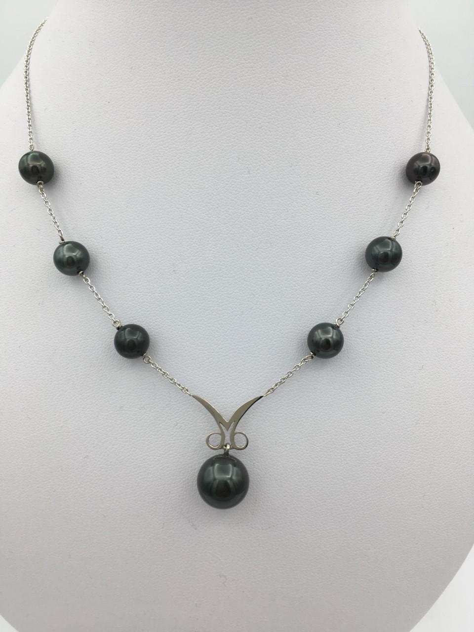 Collier or perles de tahiti