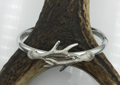 Bracelet argent 2 bois