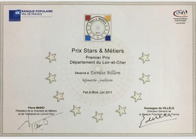 Prix Stars et Métiers - Loir-et-Cher