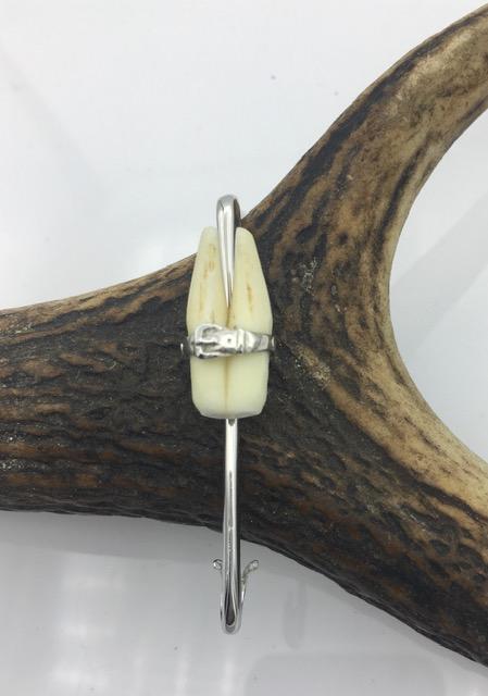 Épingle simple + dents de blaireau